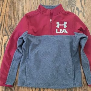 Under Armour half zip. Like new. Worn once